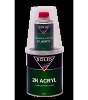 Акриловый грунт-наполнитель 5+1 Solid 2K Acryl (1л)