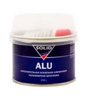 Наполнительная, усиленная алюминием, полиэфирная шпатлевка Solid Alu (0.2л)