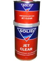 Двухкомпонентный лак для быстрых и локальных ремонтов 2+1 Solid Jet Clear(0.5л)