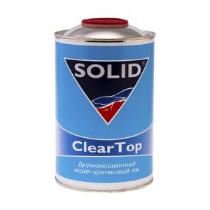 Двухкомпонентный акрил-уретановый лак Solid ClearTop (1л)