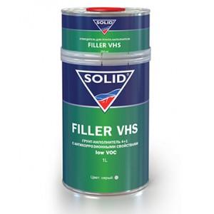 Грунт-наполнитель 4+1 с антикоррозионными свойствами Solid Filler VHS low VOC (1л)