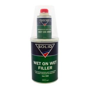 Грунт-наполнитель для нанесения методом «мокрый по мокрому» Solid Wet On Wet Filler (1л)